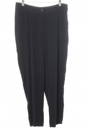 American Vintage Pleated Trousers black business style