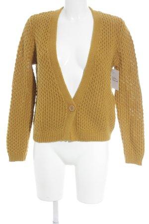 American Vintage Cardigan goldorange Casual-Look