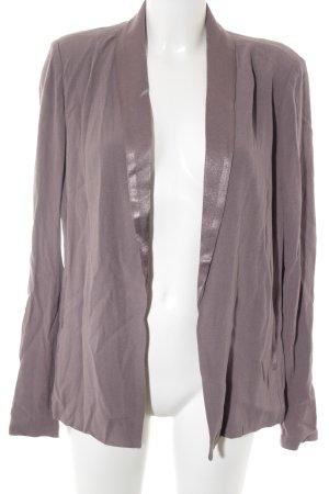 American Vintage Cárdigan lila grisáceo elegante