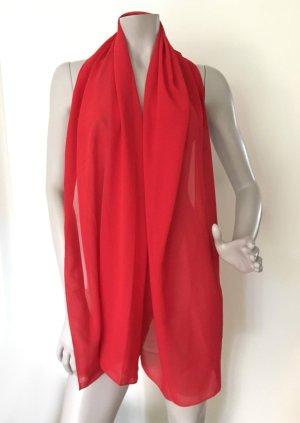 American Vintage Sciarpa estiva rosso