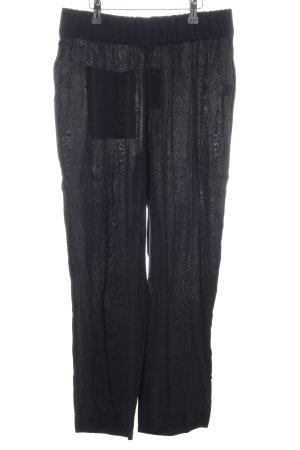 American Vintage Pantalone culotte nero stile casual