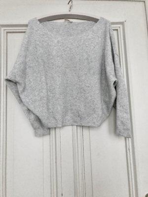 American Vintage Pull gris clair polyamide