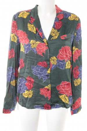 American Vintage Blusa brillante estampado floral reluciente