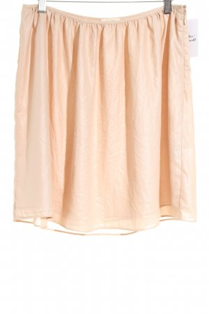 American Vintage Flared Skirt apricot casual look