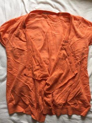 American Vintage Jäckchen aus Seide in koral/orange