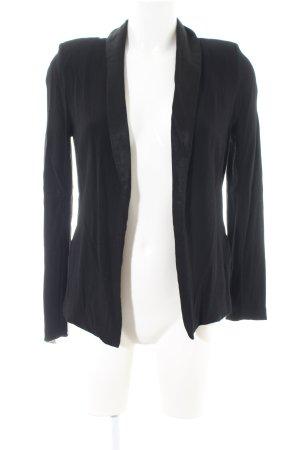 American Vintage Jersey Blazer black casual look