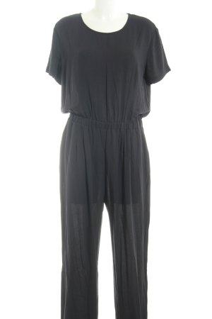 American Vintage Jumpsuit antraciet simpele stijl