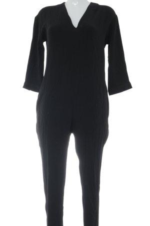 American Vintage Jumpsuit zwart klassieke stijl