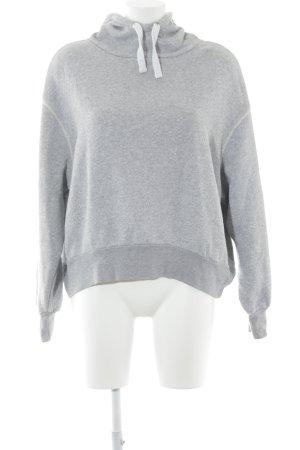 American Vintage Sweatshirt met capuchon lichtgrijs casual uitstraling