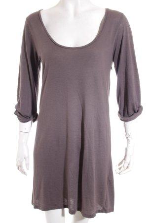 American Vintage Kleid graubraun Casual-Look