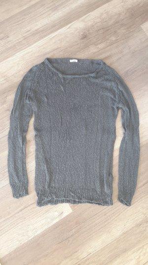 American Vintage Knit Knitted Seide Pulli Pullover Jumper Strick M