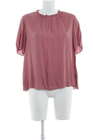American Vintage Blouse à manches courtes or rose style décontracté