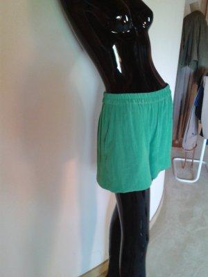 American Vintage kurze Hose, kräftiges leicht glänzendes grün, Gr.36, NEU