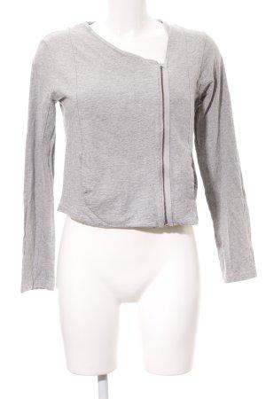 American Vintage Giacca corta grigio chiaro stile casual