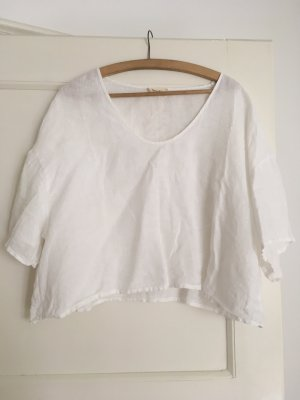 American Vintage Leinen Shirt Bluse Top M 38 40 L Oversize