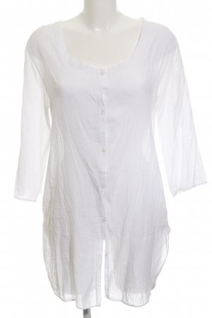 American Vintage Long Blouse white striped pattern casual look