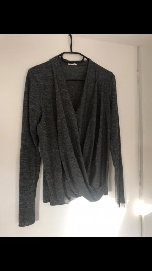 American Vintage Long Sleeve Blouse anthracite