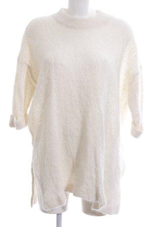 American Vintage Maglione lungo beige chiaro soffice