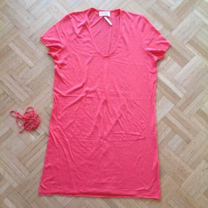 American Vintage Longshirt Yoga Shirt Flamingo Wassermelone Kleid M L 36 38 40