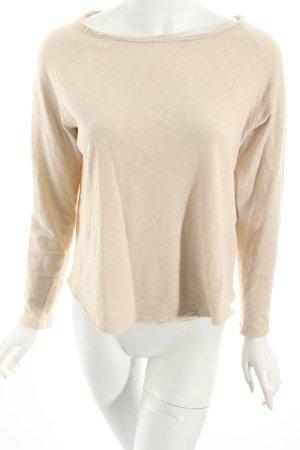 American Vintage Longsleeve beige Street-Fashion-Look
