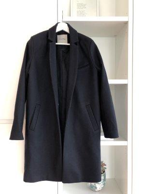 American Vintage Wool Coat dark blue