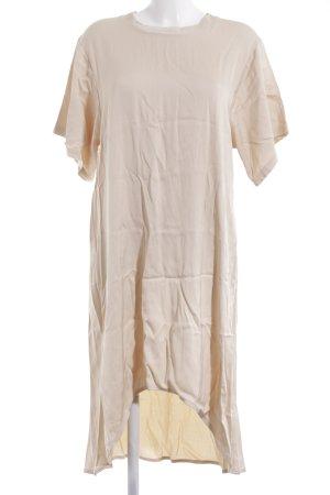 American Vintage Vestido a media pierna crema elegante