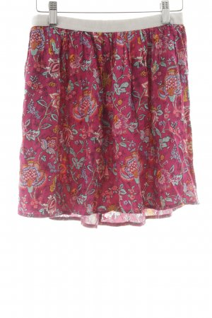 American Vintage Mini rok bloemenprint Beach-look