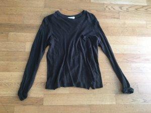 American Vintage Oberteil in schwarz Gr. S aus Baumwolle