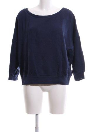 American Vintage Oversized Pullover blau Casual-Look