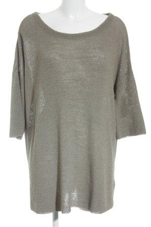 American Vintage Jersey holgados gris verdoso look casual