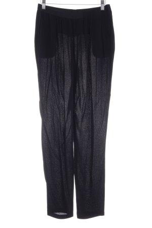 American Vintage Pantalón palazzo negro estilo sencillo