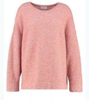 American Vintage Jersey con capucha rosa acetato
