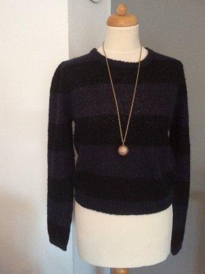 American Vintage Pullover grau -schwarz Größe M