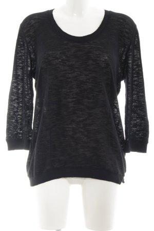 American Vintage Maglione girocollo nero stile casual