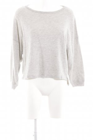 American Vintage Crewneck Sweater light grey casual look