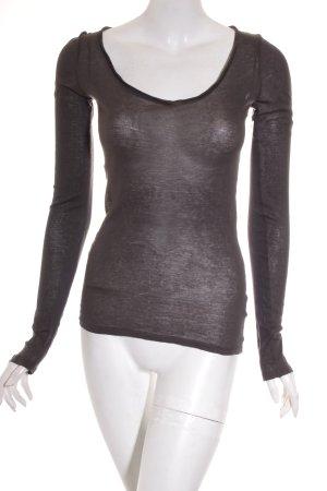 American Vintage Shirt dunkelgrau Casual-Look