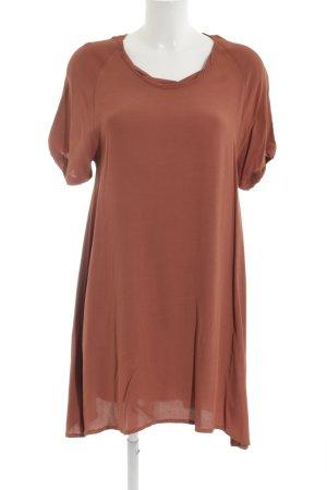 American Vintage Shirt Dress brown casual look