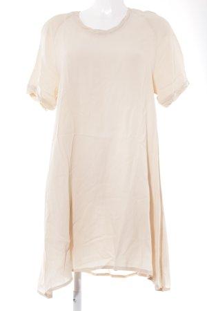 American Vintage Vestido estilo camisa nude Patrón de tejido look casual