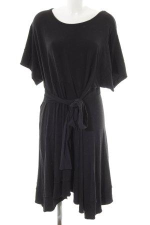 American Vintage Vestido estilo camisa negro look casual