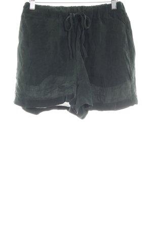American Vintage Shorts dunkelgrün Casual-Look