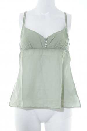 American Vintage Spaghetti Strap Top sage green casual look