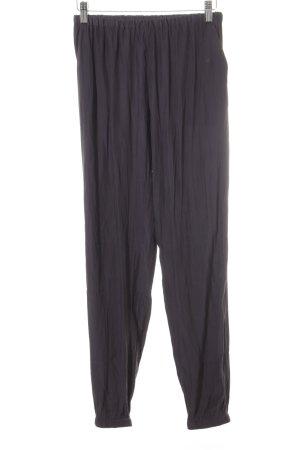 American Vintage Stoffen broek antraciet casual uitstraling