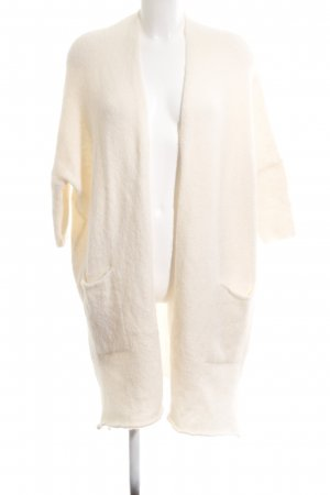American Vintage Cardigan in maglia bianco sporco stile casual