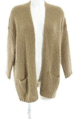 American Vintage Knitted Cardigan camel casual look