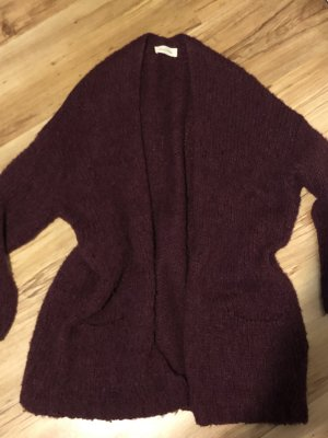 American Vintage Knitted Cardigan purple mixture fibre