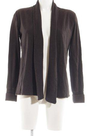 American Vintage Giacca in maglia marrone stile casual