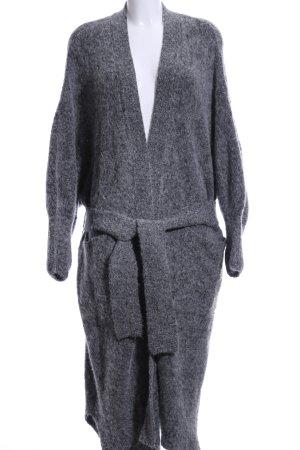 American Vintage Knitted Coat grey casual look