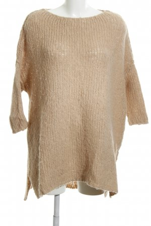 American Vintage Knitted Sweater cream casual look