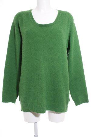 American Vintage Strickpullover grün Casual-Look