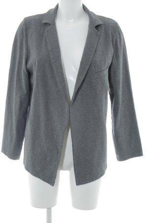 American Vintage Blazer sweat gris foncé style décontracté